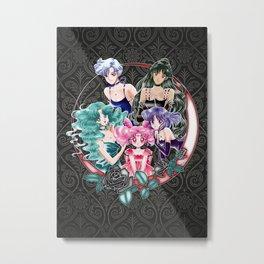 Sailor Senshi - Outer Princess (Art Edit) Metal Print