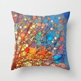 Candy Fest! Throw Pillow