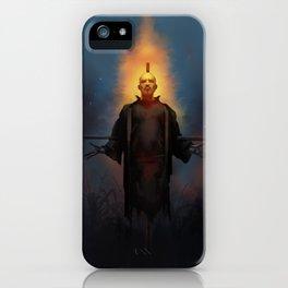 The Scarecrow Tarot iPhone Case