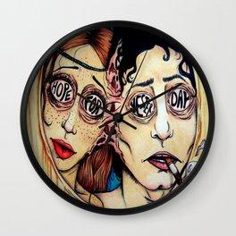Ouija Board (local band Tiny Tiny) Wall Clock