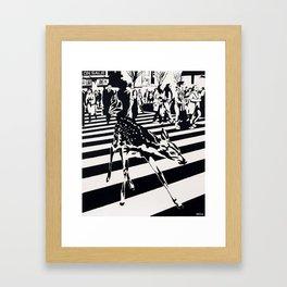 Asperger Syndrome Framed Art Print