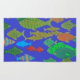 Fantasy Fishes Rug