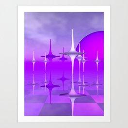 dancing 3D polynomials Kunstdrucke
