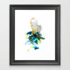 Spring Figure Framed Art Print