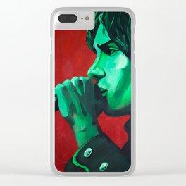 Julian Acrylic Clear iPhone Case