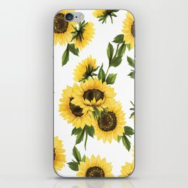 Lovely Sunflower iPhone Skin