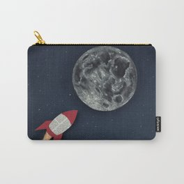 Rocket to the Moon Carry-All Pouch