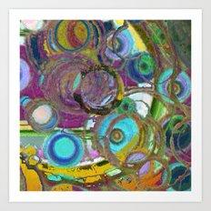 Circoli Art Print