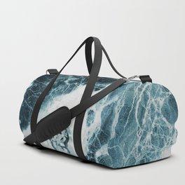 Blue Sea Marble Sporttaschen
