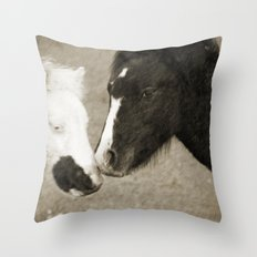 When We Touch Throw Pillow