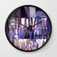 I Love New York [universe] Wall Clock