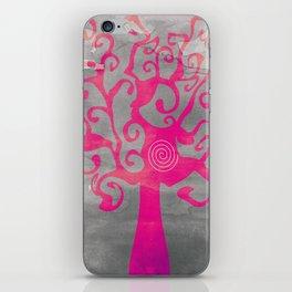 Spiral Tree iPhone Skin