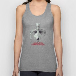 You've Been Targeted For Termination (T800) Unisex Tank Top