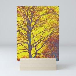very sunny day Mini Art Print