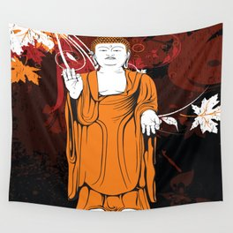 Vintage Buddha Wall Tapestry