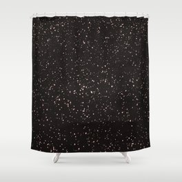 Dolce Black Shower Curtain