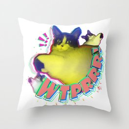 WTPRRR! - Sayen Throw Pillow