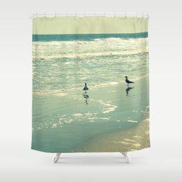 Glistening Sea Shower Curtain