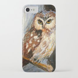I Love You To The Moon And Back Owl iPhone Case