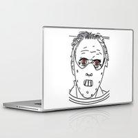 hannibal Laptop & iPad Skins featuring Hannibal by Salina Ayala