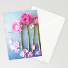 Wild Flowers and Spring Asparagus Stationery Cards