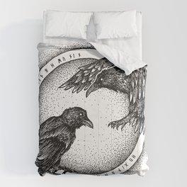 Hugin & Munin Comforters