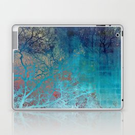 On the verge of Blue Laptop & iPad Skin