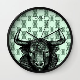 Taurus (the bull) Wall Clock