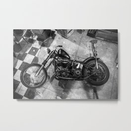 Chases Knucklehead Metal Print