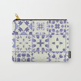 Flower Bell Azulejos Carry-All Pouch