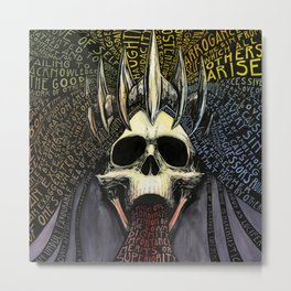 The Seven Deadly Sins: Pride Metal Print