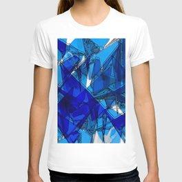 Blaue Kraniche T-shirt