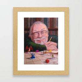 Gary Gygax: the Dungeon Master Framed Art Print