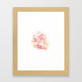 abstract watercolor 1 Framed Art Print