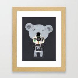 koala cam Framed Art Print