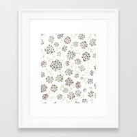 succulents Framed Art Prints featuring Succulents by Kelli Murray
