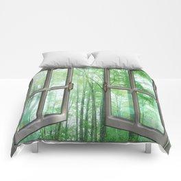 WINDOW TO NATURE Comforters