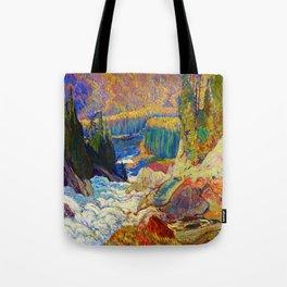 J.E.H. MacDonald Falls, Montreal River Tote Bag