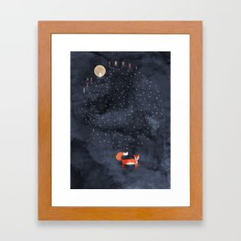 Fox Dream Framed Art Print
