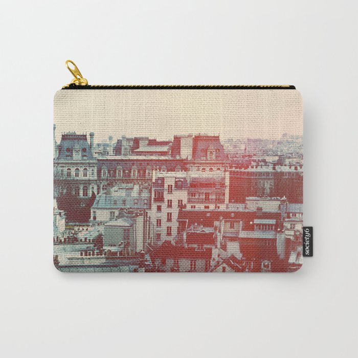 Paris Revisited Carry-All Pouch