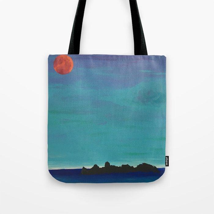 Under a Caribbean Moon Tote Bag