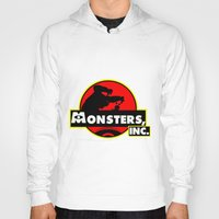 monsters inc Hoodies featuring Monsters, Inc Logo.  by Gary Wood