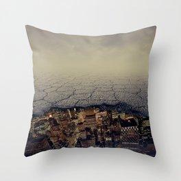 city underground Throw Pillow