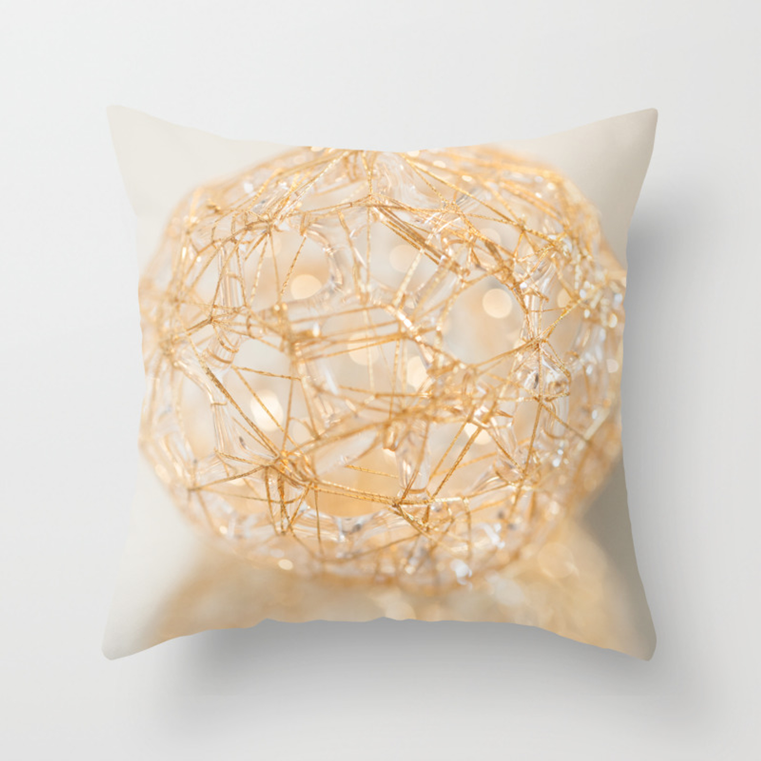 Soft Sphere Throw Pillow By Fsmcdonagh Society6