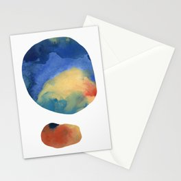 Captured Moons of Jupiter #14 Stationery Cards