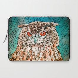 Owl Portrait Laptop Sleeve