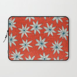 sema fire orange blue Laptop Sleeve