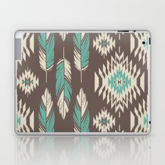 Native Roots - Turquoise & Brown Laptop & iPad Skin