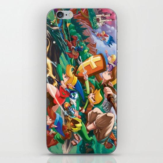 Zelda Mash Up iPhone & iPod Skin