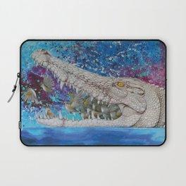 Albino Crocodile Laptop Sleeve